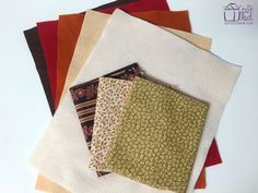 Easy+Fabric+Coasters