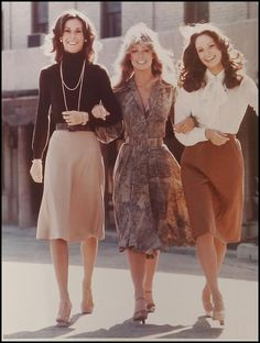 came across these photos of the original charlie s angels on the ...