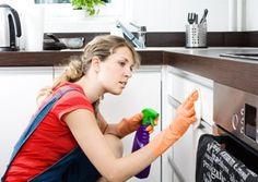 In #kitchen,cleaner clean and polish all #cupboards & drawers inside & out, remove stains,dirt and finger prints etc.