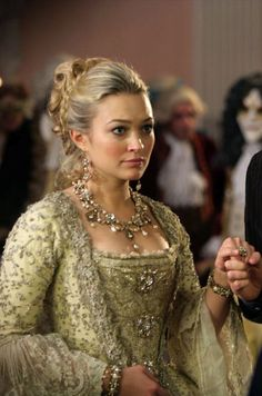 Sophia Myles as Madame de Pompadour in Doctor Who: The Girl in the Fireplace (2006).
