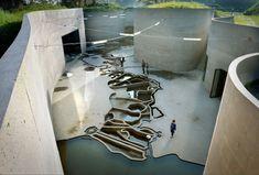 waterline museum   courtyard map ~ studio anne holtrop