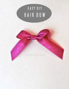 DIY Hair Bows + New Hello Kitty Line at Macy's - Make Life Lovely