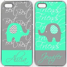 Make a cute couple case. Use this phone case as inspiration to design your own personalised phone case at GoCustomized.com!