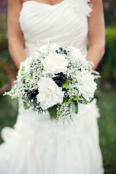 Black & White bouquet, Classic