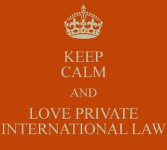 ~Private International Law <3