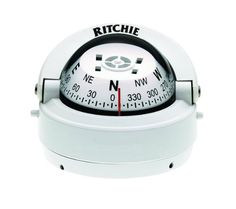 Ritchie Explorer Compass Dial With Surface Mount And 12V Green Night Lighting White 2 34Inch >>> Click image to review more details.