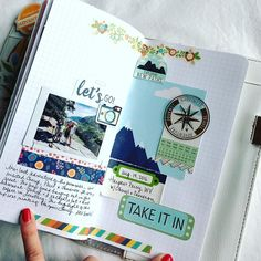 I FINALLY finished my summer @websterspages Traveler's Notebook. This page is about our trip to Harpers Ferry, WV. I used lots of AC Shimelle goodies from @emmaspaperie #emmaspaperie #shimelle #travelersnotebook #websterspages #colorcrushlove #colorcrush #fauxdori