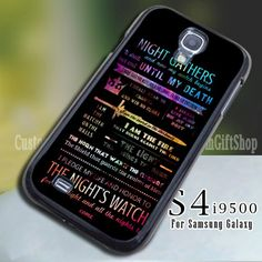 Game Of Thrones Quotes for Samsung 9600 (Leave a Note) Game Of Thrones Quotes, Samsung Galaxy S4, Notes, Accessories, Report Cards
