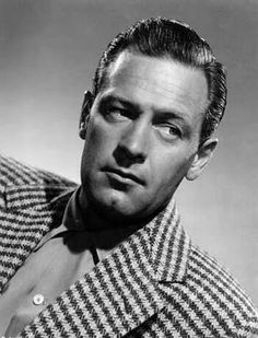 William Holden SMOOTH, EPITOMY OF A CLASS ACT AND GQ BACK IN THE DAY!