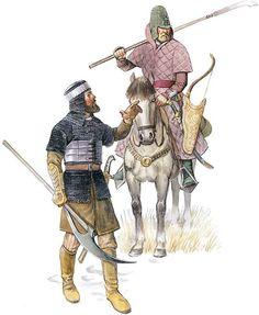 ImagenUnos rusos durante el siglo XVI.