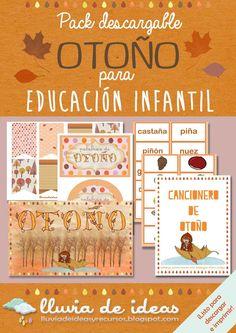 The Preschool cloud: Otoño/Autumn Au Pair, Digital Magazine, Fall Halloween, Fall Decor, 1, Diy Crafts, Seasons, Autumn, Education