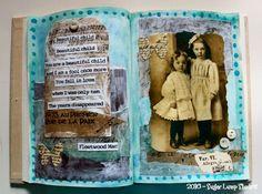 {Beautiful Child Journal Page}