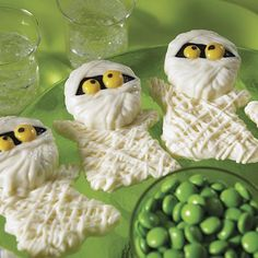 Make store-bought sandwich cookies spooky sweet this Halloween by using Wilton Candy Melts candy and the Mummy Cookie Candy Mold.