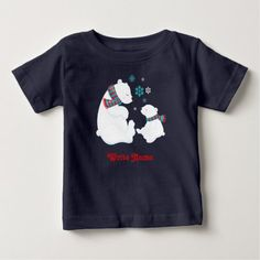 Shop for the best Bear baby t-shirts right here on Zazzle. Upgrade your child's wardrobe with our stylish baby shirts. Winter T Shirts, Stylish Baby, Baby Shirts, Baby Winter, Newborn Gifts, Kids Gifts, Ice, Bear, Mens Tops