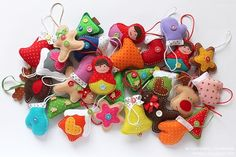 Мягкие игрушки своими руками из фетра