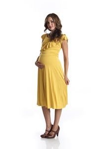 pregnancy clothes - don't care for the color, but the dress is cute!