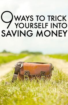 How To Save Money By Tricking Yourself. For most, saving money is easier said than done though. Considering that the average person is saving less than they want to, many probably need to be more creative with how they go about saving money.