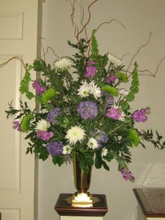 church wedding floral arrangement | Flowers-by-Design: Fresh Flower Designs