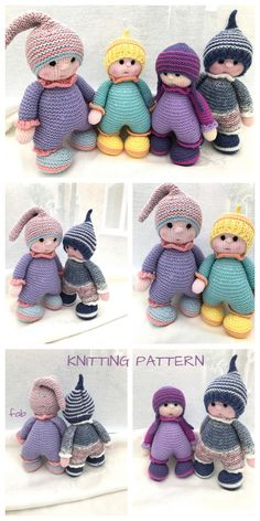Knit adorable cuddly doll knitting pattern Knit adorable cuddly doll knitting pattern, Source by fi Knitted Dolls Free, Knitted Doll Patterns, Animal Knitting Patterns, Crochet Dolls, Crochet Cats, Crochet Patterns, Crochet Birds, Crochet Food, Knitted Teddy Bear