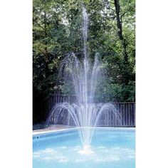 Find sparkling standard 3-tier pool fountains at amazing prices.  This pool fountain features three gorgeous tiers of cascading water and its height can be adjusted from 7 feet to 16 feet.