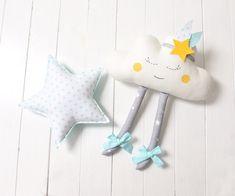 Cloud Pillow Cloud cushion Pillow Cloud Plush Happy Cloud