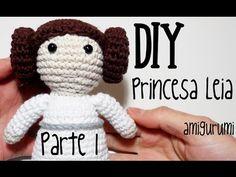 Nuevo personaje de nuestra colección de Star Wars de amigurumi: La princesa Leia.