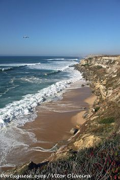 Litoral entre a Praia da Vigia e a Praia da Mexilhoeira - Portugal by Portuguese_eyes, via Flickr