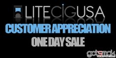 LitecigUSA Customer Appreciation Sale (10% Off) | GOTSMOK.COM