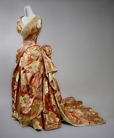 Stunning.....Worth evening dress ca. 1890  From the Preservation Society of Newport County via Jane Design Studio