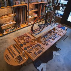 SHOP: Tanner Goods / Portland, Oregon                                                                                                                                                      More