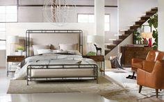 Hooker Furniture - Studio 7H Slumber King Metal Upholstered Bed - 5388-90266