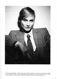 Diane Kruger auf dem Cover der deutschen Vogue