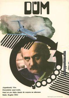 Hrdina, Miroslav / Czech movie poster / «The House» / 1977