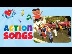 Cruisin Down the Freeway in a Pink Cadillac with Lyrics | Children Love to Sing Kids Action Song - YouTube