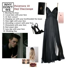 Red Carpet Date w/ Zach by princessmaniac-5sos on Polyvore featuring polyvore, fashion, style, Versace, Giuseppe Zanotti, Gucci, Anastasia Beverly Hills and clothing
