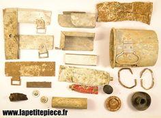 Lot de pièces de terrain Allemand Deuxième Guerre Mondiale. WW2