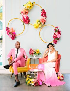 Colorful Wedding Inspiration with an Epic Balloon Backdrop - Ideas con flores . Colorful Wedding Inspiration with an Epic Balloon Backdrop - Ideas con flores de papel - Wedding Themes, Wedding Designs, Wedding Colors, Wedding Venues, Wedding Flowers, Wedding Decorations, Backdrop Wedding, Diy Flowers, Prom Themes