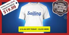 Check out this t-shirt campaign  #Alex Thomson #Éric Tabarly #Samantha Davies, #François Gabart #Grant Dalton  http://teespring.com/sailing-makes-me-wet-limited