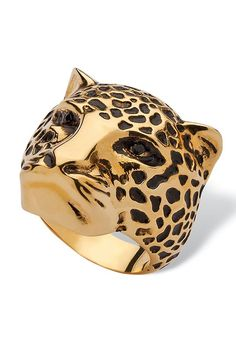 491358cb7 The Best Lion, Tiger, & Panther Insignia Rings To Rock This Season