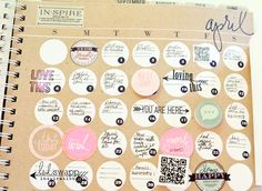 April Heidi Swapp Memory Planner by Jennifer Evans-8_web