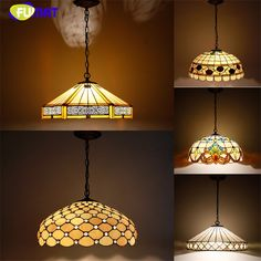 248.40$  Watch now - http://aliw55.shopchina.info/go.php?t=32792045106 - European Style Tiffany Pendant Lamp Big Lampshade Light Stained Glass Suspension Light Restaurant Lamp Hotel Lights Dia 50cm 248.40$ #buyonline