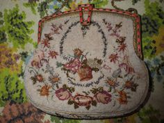 SALE  25% OFF  Purse Art Deco Micro-beaded by DragonFlyFindsnArts