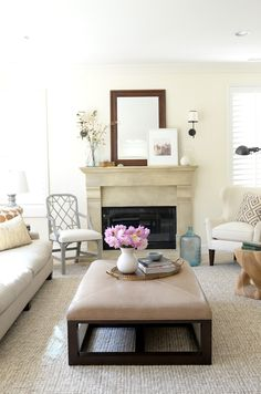 Love Love Love everything about the decor and design in this space! Perfect living room!