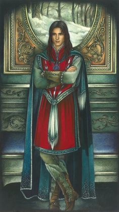 Elphir, son of Imrahil of Dol Amroth. Yet another forgotten Tolkien character who should have been more important than Freakin' Arwen!