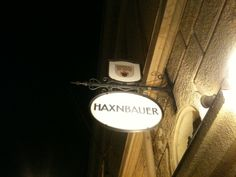 Haxnbauer restaurant, Munich.  The roasted pork knuckle is amazing. Recommended.