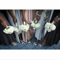 Shoes and bouquets   Photo by @afrodisiacphootography  #weddings #weddinginspiration #bridal #bridesmaids
