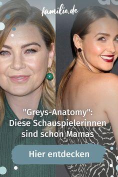 """""""Grey's Anatomy"""" gehört für viele von uns mittlerweile fest zum Abendprogramm. Seit nun mehr als 17 Staffeln begleiten wir Meredith Grey durch ihren Alltag als Ärztin, Freundin und Mutter. Doch was treiben unsere Serienlieblinge eigentlich privat? Greys Anatomy, Baby News, Mama Blogger, Meredith Grey, Beauty, Movie, Awesome Things, Kids Discipline, Family Life"""