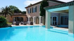 Saint-Tropez - villa for rent - holiday rental. Villa for rent in Saint-Tropez. Villa for rent between Pampelonne Beach and Saint-Tropez. Front Yard Fence, Fenced In Yard, Sea State, Rural House, Saint Tropez, Pent House, Provence, Swimming Pools, Villa