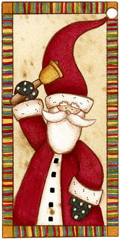 Moldes e Massas: Pai Natal para Decoupage                              …
