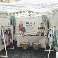 """🌿N e l l i e Q u a t s🌿 on Instagram: """"NQ are at Primrose Hill Christmas Fair until 5 today, if you're around, come and see us ❤️🎄 #nelliequats #linen #libertyprint #childrenswear…"""""""